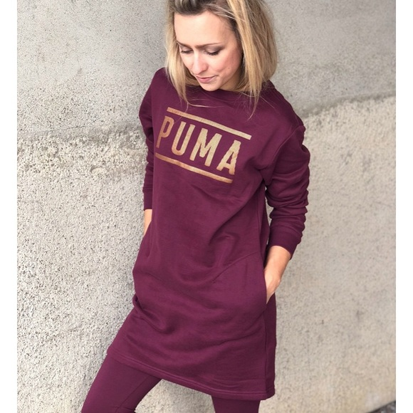 Puma Dresses   Athletic Sweat Dress